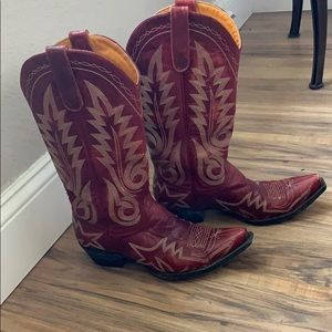 Old Gringo red boots